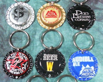 What Dog Doesn't Need a Little Washington Breweries Bling? Recycled Bottle Cap Bling Charms (Sold Separately)