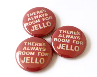 """Jello Biafra Campaign for Mayor of SF 1"""" Pinback Button or Magnet Theres Always Room for Jello"""