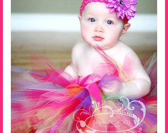 2pc, Jelly Bean, Tutu Set, Baby Shower, Gift, 1st Photo Shoot in Sizes to 6mos