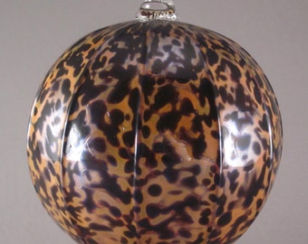 Handblown Glass Ornament  Tazza Glass