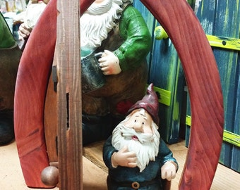 Hand-Crafted Fairy / Gnome Door - Opened