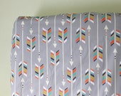 Tribal Arrows Crib Sheets, Changing Pad Covers, Indie Fabric Printed Just for You