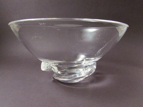 Vintage Crystal Bowls 92