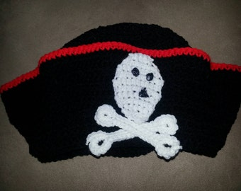 Crocheted Pirate Hat