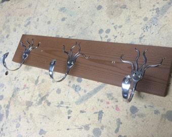 3 Funky Forks Coat Rack