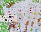 8 Christmas Bingo Preschoolers up to 1st Grade-Unique Sheets & Calling Sheet
