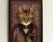 Art Print - Poster - Sir Harold and His Mouse Betty