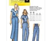 Jeans Sewing Pattern - Womens Jeans Pattern - Butterick 5403 - B54033 - Uncut, Factory Folded