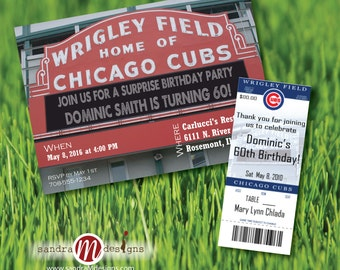 INVITATION: Wrigley Field Chicago Cubs