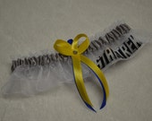 NEW Handmade wedding garter keepsake STAR TREK wedding garter set