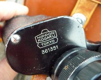 Early Nikon - Nippon Kogaku Tokyo - Mikron 7 x 35 Coated Binoculars