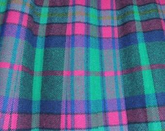 Gorgeous Pendleton Pleated Plaid Skirt size 6