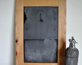Real Slate Chalkboard - Made from Salvaged Roof Slates