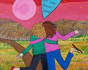 Greeting card : Forever Friend #160-C