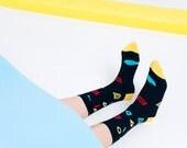 Piet - Pista Collection Original Design Unisex Socks