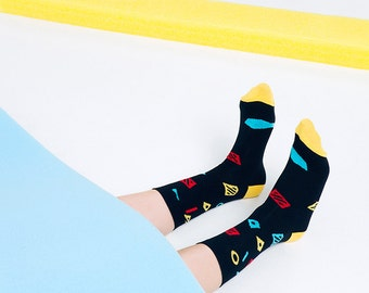 Piet - Pista Collection Original Design Unisex Socks