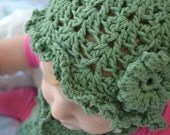 Lacy Toddler Hat and Scarf