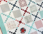 Paper Pattern for Pot Luck Quilt