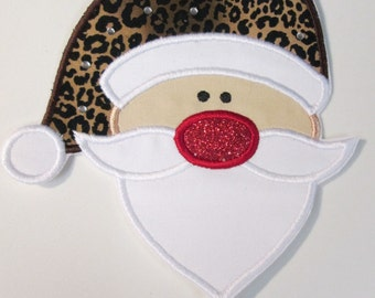 Iron On Applique - Mr. Santa Claus
