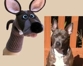 Example Only. Custom Dog Couture Sock Puppets. Do Not Purchase this Listing