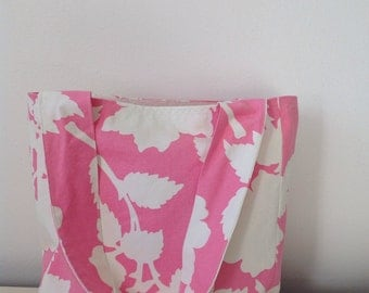 Canvas Tote/ Market Bag/ Handbag