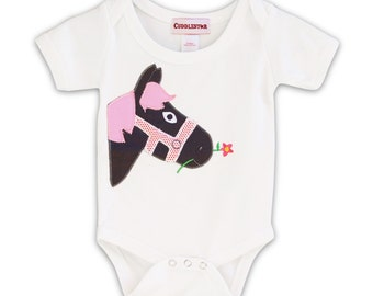 Petunia Pony Infant Romper