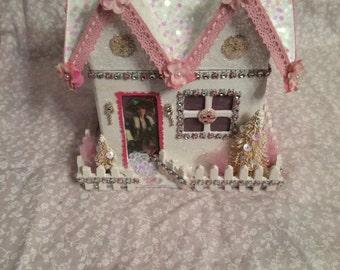 Christmas Victorian House