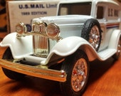 U.S. Mail Limited Edition Series 1932 Panel Truck Bank 1989 Edition Coin Bank