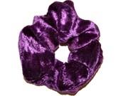 Velvet Scrunchie/ purple Velvet Scrunchie/ blue Scrunchie /Hair accessories/Handmade Scrunchie /Gift Under 10