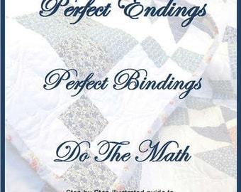 Sale!  Perfect Endings, Perfect Binding Do the Math (SCT10118) - Sisters' Common Thread