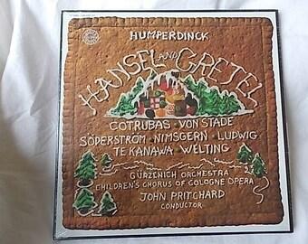 1979 Hansel & Gretel Humperdinck Opera Sealed 2 Record Set von Stade Cotrubas