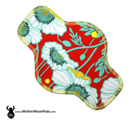 "10"" Floral Cotton Pantyliner"