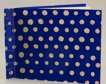 Blank Haiku Book Hand Bound with a Japanese Stab Binding