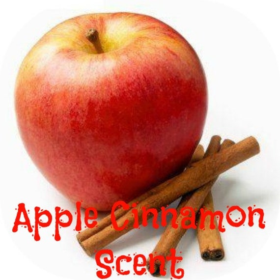 APPLE CINNAMON Scented Soy Melts - Soy Wax Tarts - Wickless Candle - Highly Scented - Hand Poured Handmade In USA