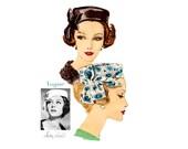 1960s Original Sally Victor Pillbox Hat Pattern Vogue 9992, Womens Head Size 22, Cocktail Hat, Fascinator Hat Vintage Sewing Pattern