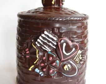 Vintage Cookie Jar, Made in Japan