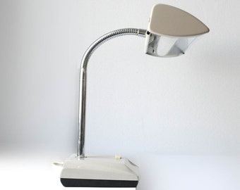 Vintage Mid-Century Goose Neck Hamilton Industries Retro Desk Lamp