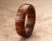 Size 7 - Guayacan Wood Ring No. 245