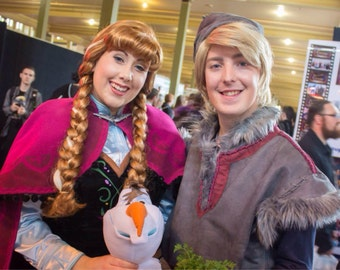 READY to SHIP Kristoff Frozen Adult Men's Costume Wig -  A True Enchantment Original