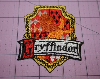 Gryffindor Harry Potter Theme Iron on Patch