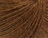 Saddle Brown - Peruvian Alpaca/Merino Sock Knitting Yarn, 50 grams