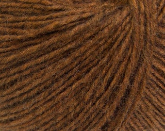 Saddle Brown - Peruvian Alpaca/Merino Sock Knitting Yarn, 50 grams