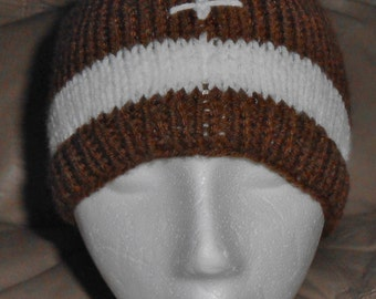 Child Knitted Football Hat
