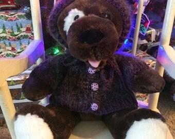 Handmade 16-17inch Build a Bear sweater