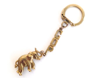 Republican Vintage Key Chain GOP Elephant