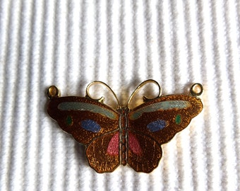 Vintage Cloisonne Butterfly