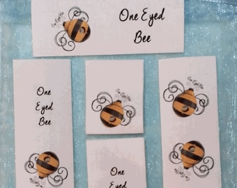 3/4 x 2 1/2 Inch Qty. 36 Sew in Cotton Clothing Labels