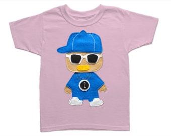 Rad Rapper - Clock - Toddler T-Shirt [LIGHT PINK]
