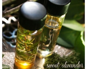 sweet olivander - botanical perfume oil of lilac and field - meticulously forged to be an exercise in seduction - 1/2 oz