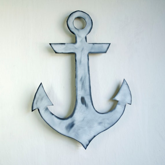 Metal Anchor Decor Wall Mounted Anchor Anchor Sculpture